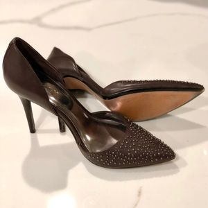 Authentic Coach Holmes Studded High Heel Stiletto